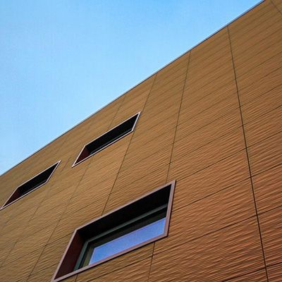 Parement de façade DUNE (inspiration ORGANIQUE) - Bardage avec ou sans ossature