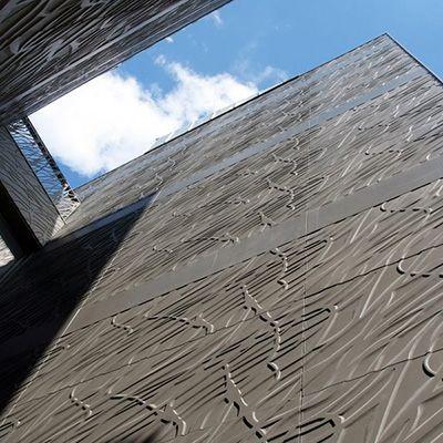 Parement de façade VEGETAL (inspiration organique) - Bardage