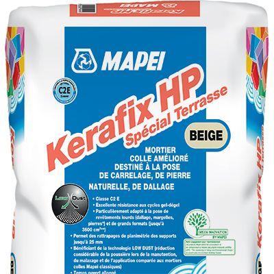 Kerafix HP Spécial Terrasse - Mortiers colles améliorés spécial terras