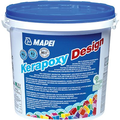 Kerapoxy Design - Mortiers de jointoiement base époxy
