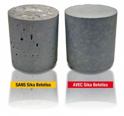 Sika Betoliss - Additif pour béton sika betoliss