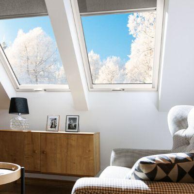 Fenêtre de toit Fakro pour maisons passives - Fenêtre de toit super thermo-isolant