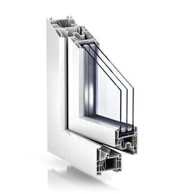 KÖMMERLING 76 Advanced - Fenêtres en pvc