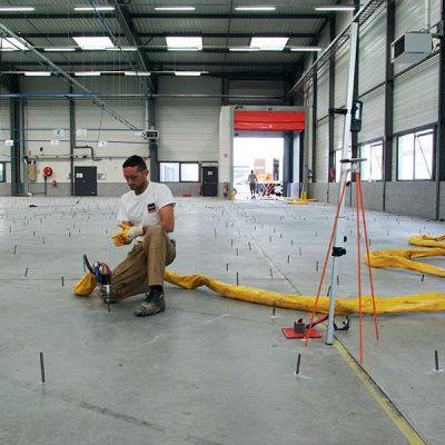 URETEK Floor Lift - Stabilisation et relevage de dallages