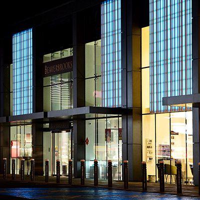 HI-MACS - Matériau Solid Surface pour façade