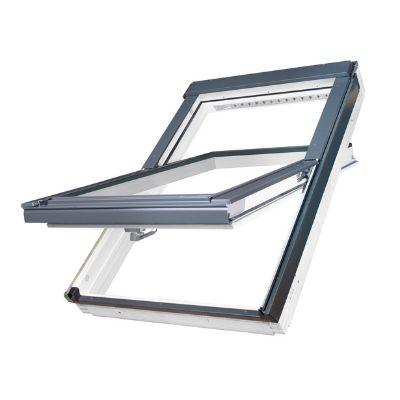 Fenêtre bois à rotation avec résistance accrue à l'humidité - Fenetre de toit