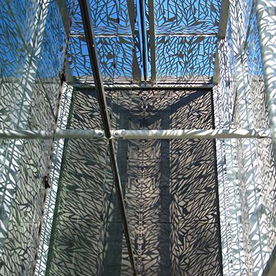 RYTHMIC CORAIL - Tôle métallique découpée au laser