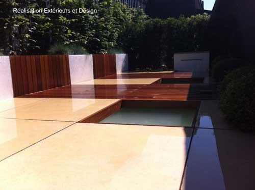 Carrelages en béton contemporains - Pour intérieur ou extérieur