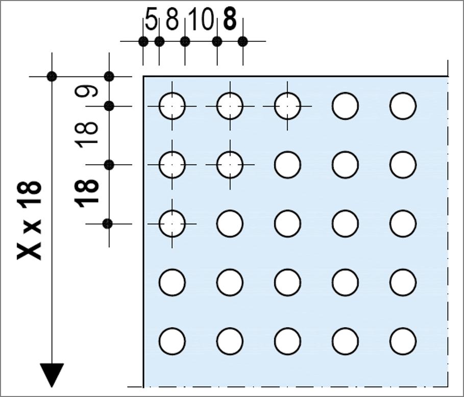 Knauf Delta Linear - Décor Rectiligne - Plafond acoustique non démontable