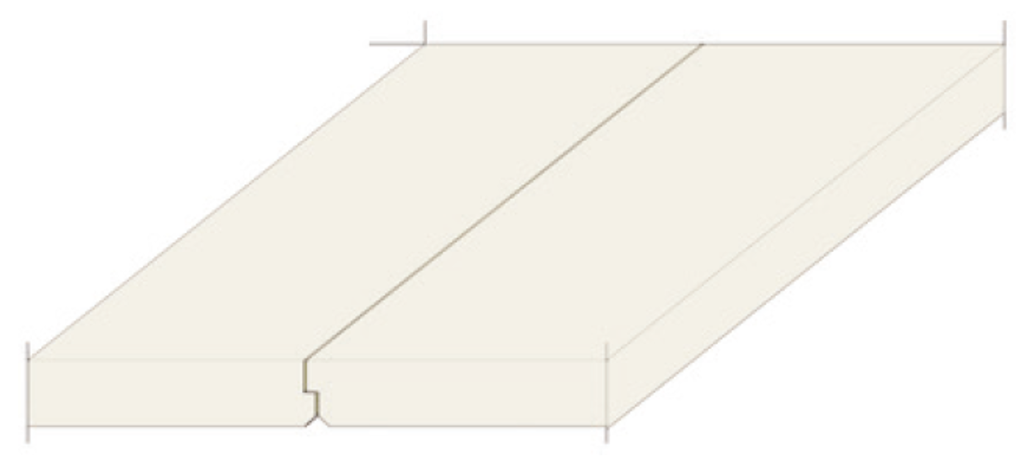 Plafonds acoustiques non démontables Knauf Delta  - Plâtre