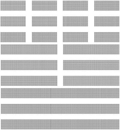 Knauf Delta 4 - Décor Tangent - Plafond acoustique non démontable