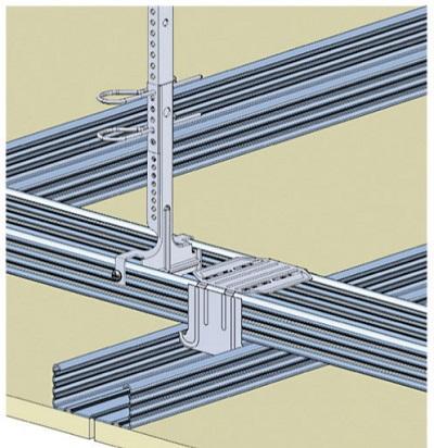 Knauf Danoline - Contrapanel - Mur & plafond acoustiques non démontable