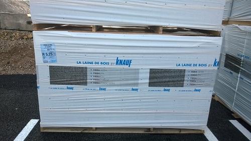Panneaux en laine de bois isolants - Fibra ULTRA 15 Clarté - Procédé d'isolation thermique