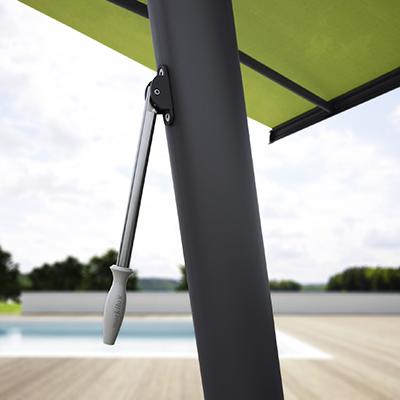 markilux planète - Le store-parasol innovant