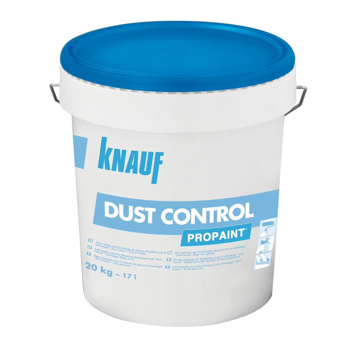 knauf propaint dust control enduit joint pr t l 39 emploi. Black Bedroom Furniture Sets. Home Design Ideas