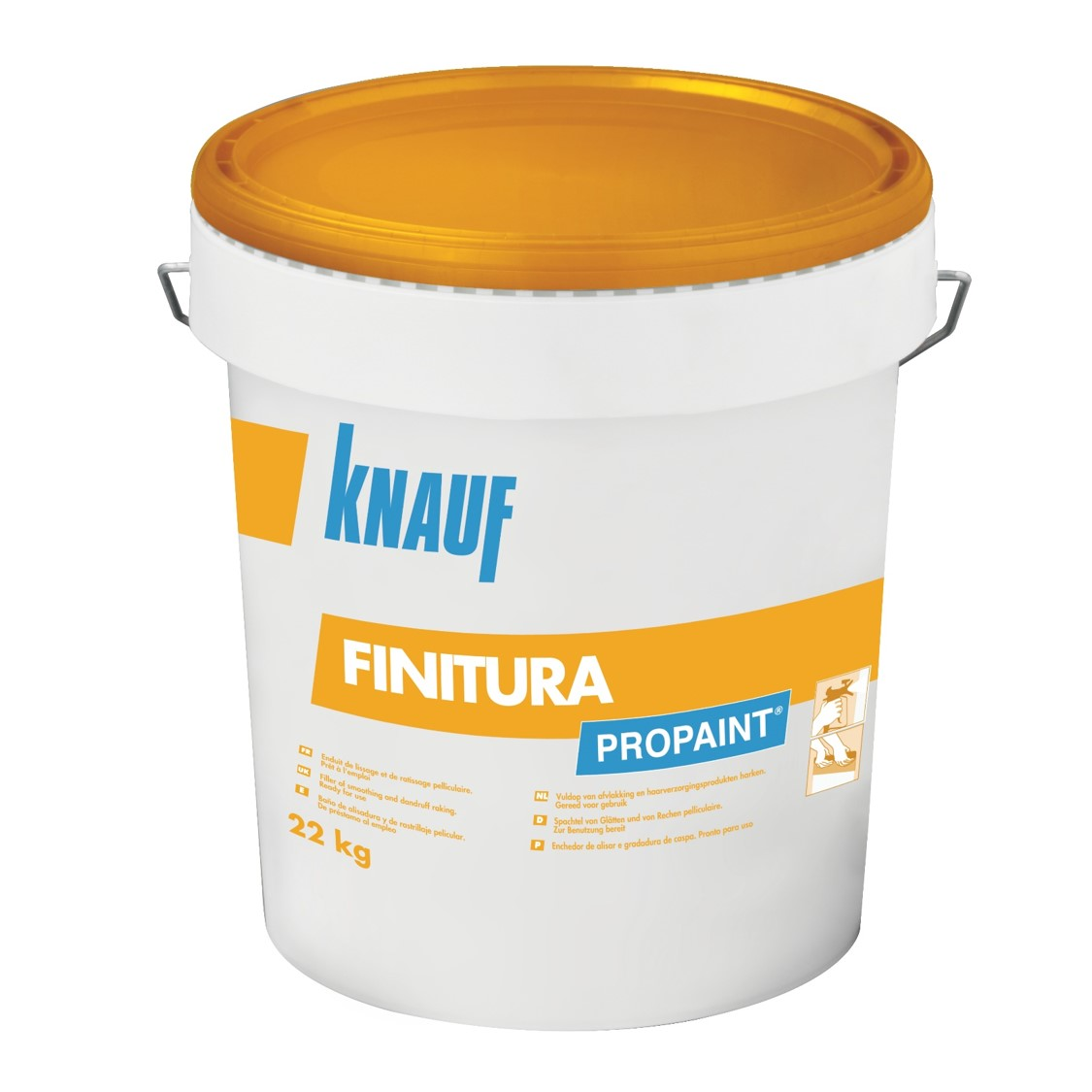 knauf propaint finitura enduit joint pr t l 39 emploi. Black Bedroom Furniture Sets. Home Design Ideas