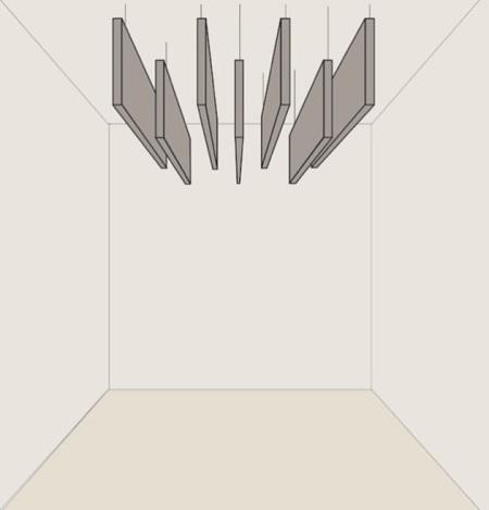 Baffle verticale acoustique - Organic Sound V - Baffle murale