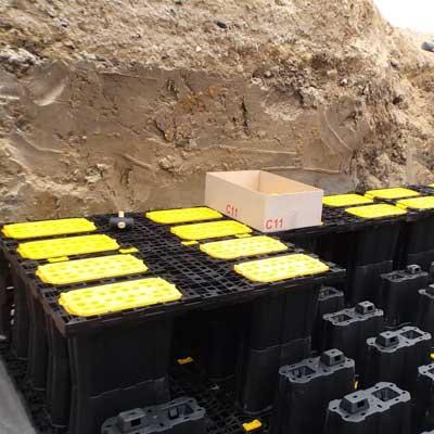 AZbox, drainage et stockage des eaux pluviales - Stockage eaux pluviales