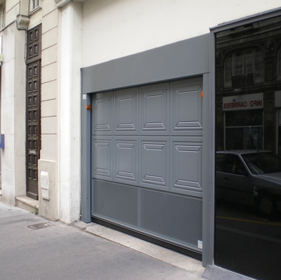 Portes basculantes safir s400 et s424 for Porte de garage safir