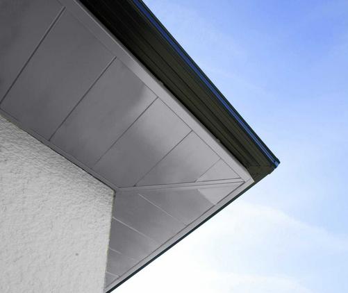 Sous-face aluminium - L'habillage durable de l'avant-toit