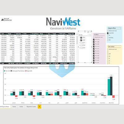 L'ERP NaviWest conçu pour les professionnels du Bâtiment et des Travaux Publics - Suivi de chantier et analyse financière