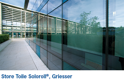 SOLOROLL II - Store toile interieur