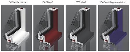 REFERENCE, ouvrant caché PVC - Menuiseries pvc à frappe