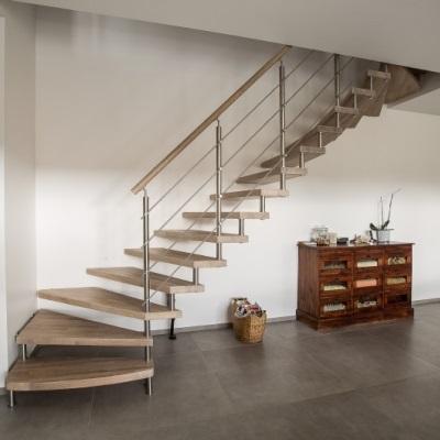Escalier Design Modèle Épura - Escalier Autoporteur En Bois Massif ...