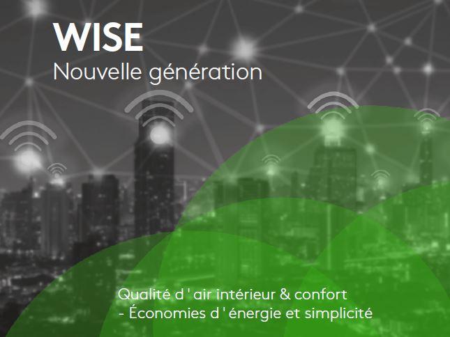 Système de ventilation à la demande Wise II - Ventilation à la demande sans fil