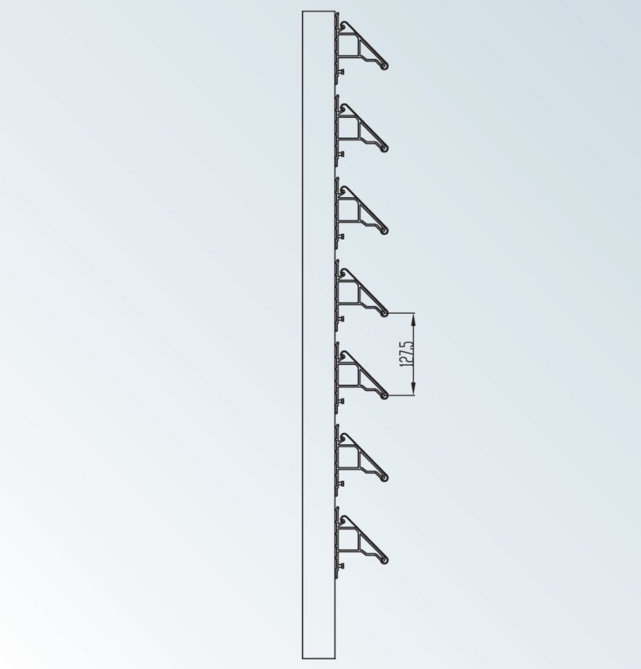 DucoSun 100 C - Brise-soleil architectural