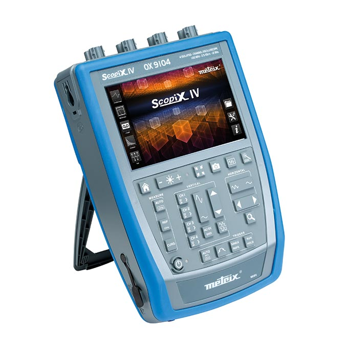 SCOPIX IV - Oscilloscopes numériques portables
