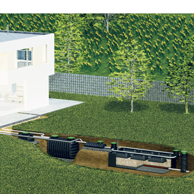 Biomatic - Solution d'assainissement compacte