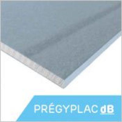Siniat - PRÉGYPLAC dB  - Plaque de plâtre