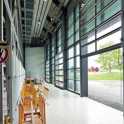 ALR F42 Glazing - Porte sectionnelle grande surface vitrée