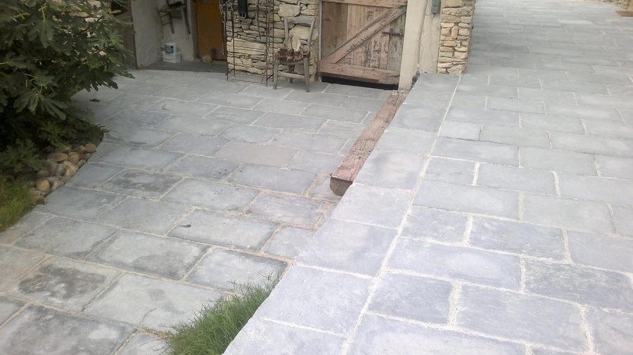 Carrelages extérieurs façon pierre - Dallage