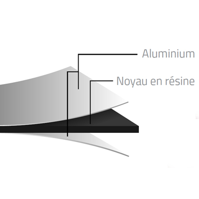 Bluetek composite - Habillage de façades