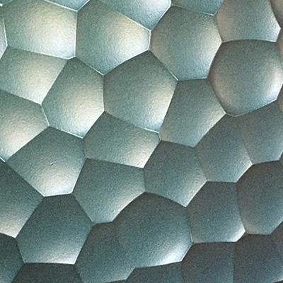 Parement de façade MOON (inspiration organique) - Bardage avec ou sans ossature