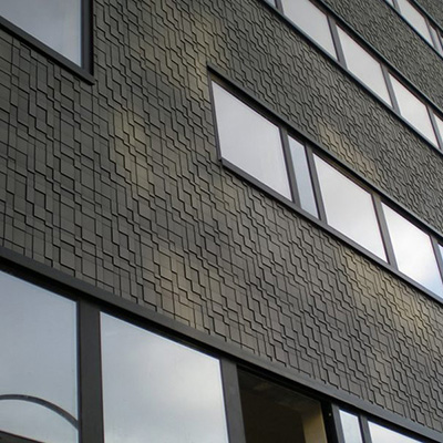 Parement de façade GRAF  - Bardage avec ou sans ossature