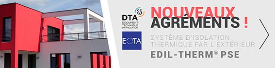 Système EDIL-Therm PSE & Laine de Roche  Procédé ITE - Système d'ite