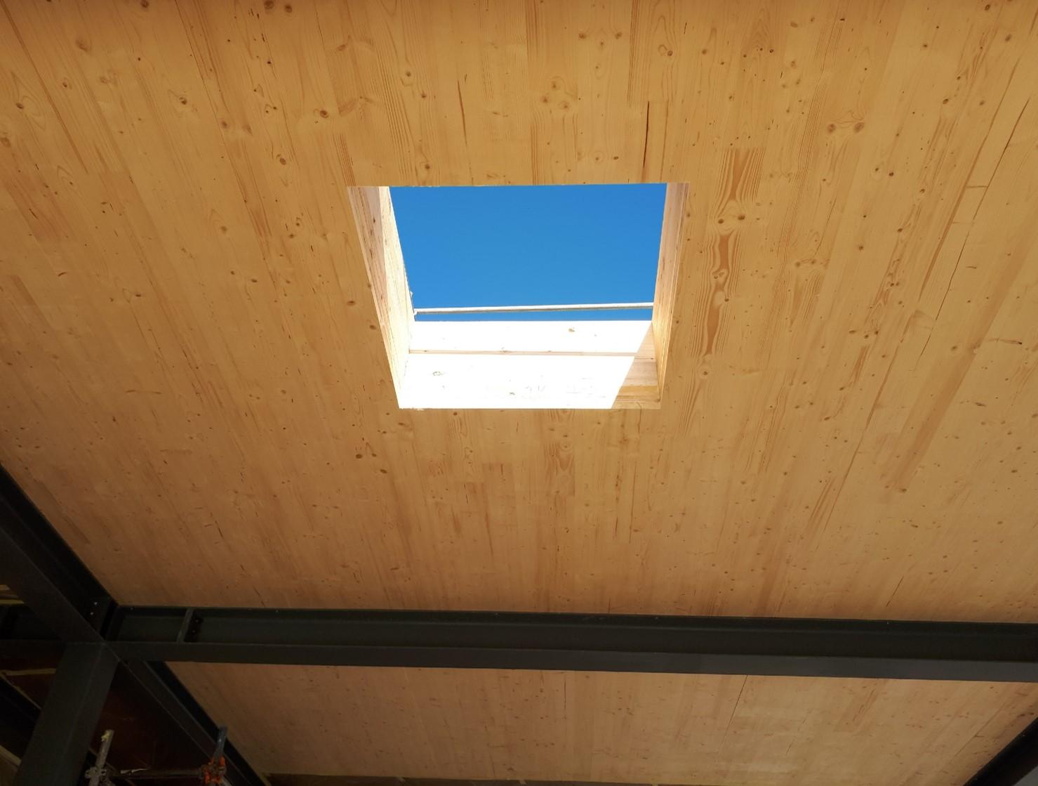HEXAPLI - Panneaux lamellé croisé en bois
