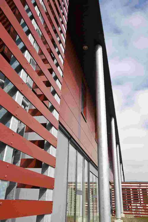 Compact Exterieur Polyrey Facade - Panneau stratifié épais extérieur