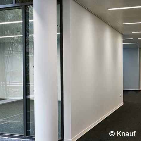 Cloison acoustique Knauf - KA Phonik - Plaque de plâtre acoustique
