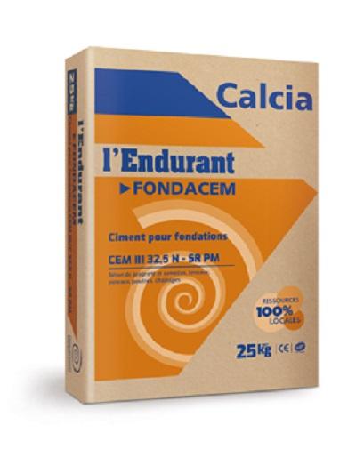 L'Endurant FONDACEM 32,5 N (CEM III/C SR PM) - Ciment pour fondations