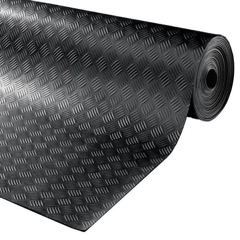 Tapis caoutchouc industriel PREMIUM - Protection de chantier