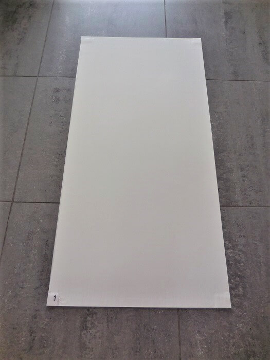 Lot de 4 Tapis collant pelable ZONEPROTECT - Anti-bactérien - 450mm x 900mm - Protection anti-poussière pour travaux