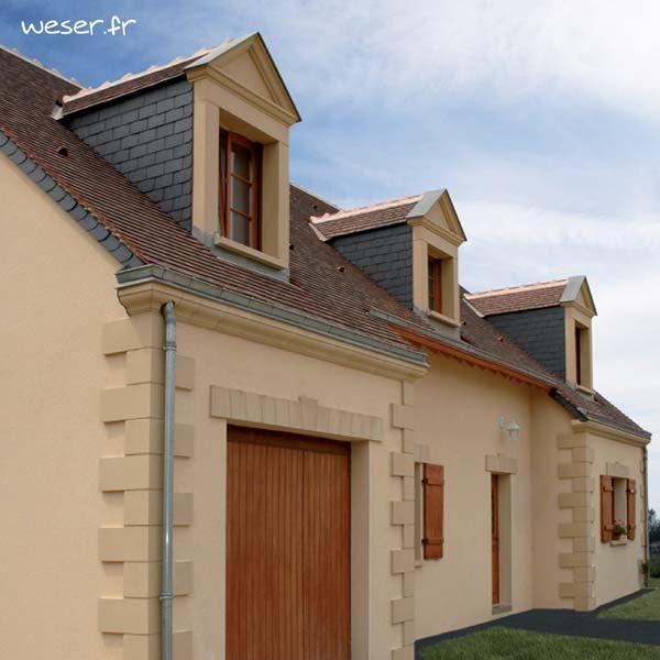 Lucarne - Décors de façades