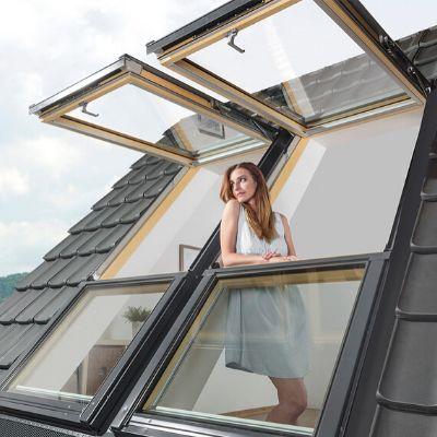 Fenêtre de toit Fakro projection-rotation FPP-V preSelect MAX