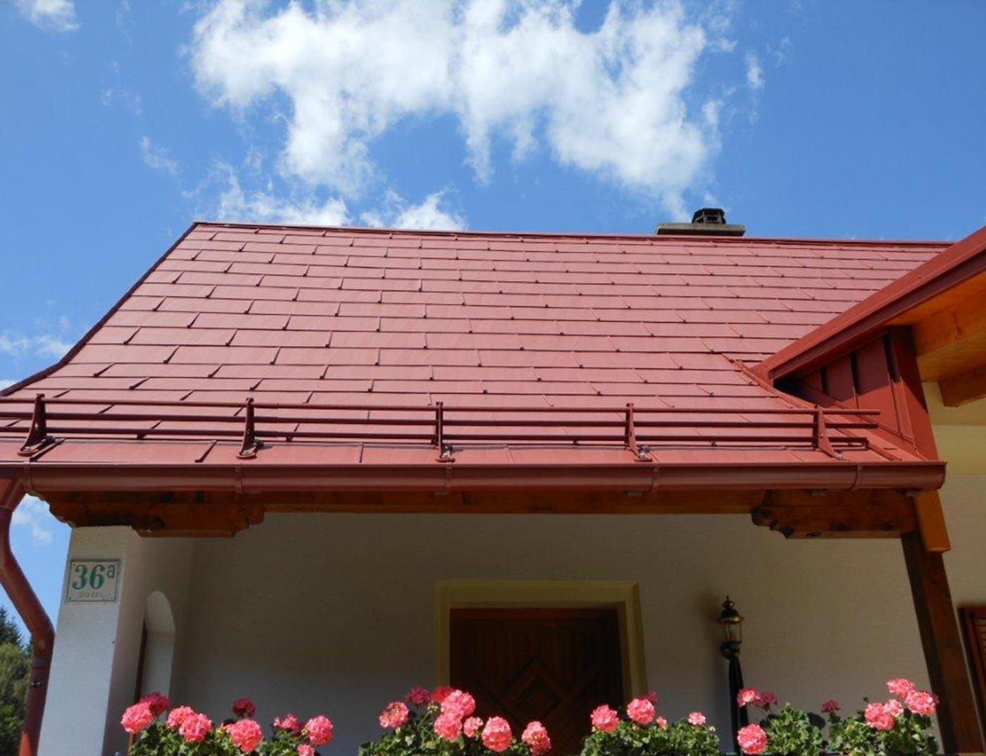 Panneaux de façade et de toiture FX.12 PREFA - Panneau de  façade et de toiture alu