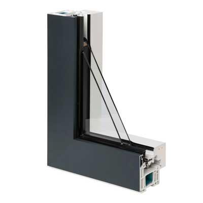 Alya - Fenêtre mixte pvc aluminium