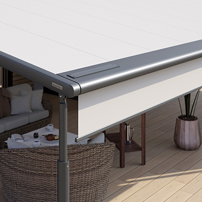 Markilux pergola 110/210 - Protection solaire variable
